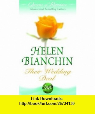 The 12 best ebooks electronic images on pinterest before i die their wedding deal queens of romance collection 9780263865929 helen bianchin isbn fandeluxe Gallery