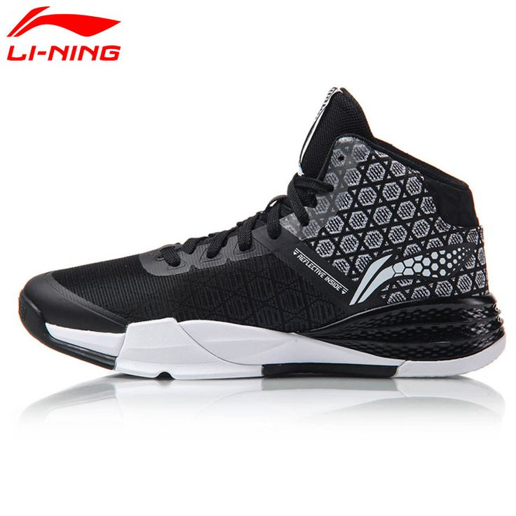 Li Ning Original Men's STORM On Door Basketball Shoes LiNing Cloud Breathable Cushioning Sneakers Sports Shoes ABFM005 #Affiliate