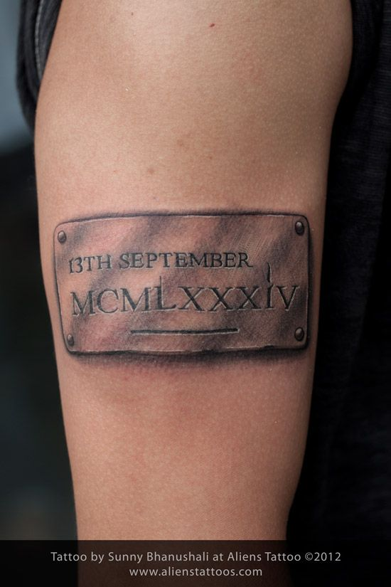 122 best images about that buzzing needle on pinterest for Birthday date tattoos