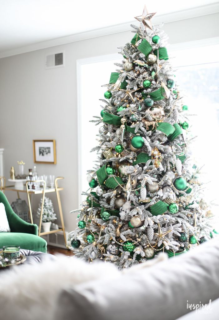 Christmas At Bayberry House Holiday Home Tour With Color Christmas Decoration Ideas Christma Christmas Tree Themes Colorful Christmas Tree Christmas Colors