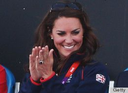 Duchess Kate Middleton hasn't met an Olympics event she didn't like. This week she's already watched Zara Phillips' equestrian event, chilled with Michelle Obama at an Olympics reception, done the wave watching Andy Murray at Wimbledon and showed some major PDA with Will at the Team GB cycling race.