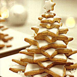 Christmas tree stack.