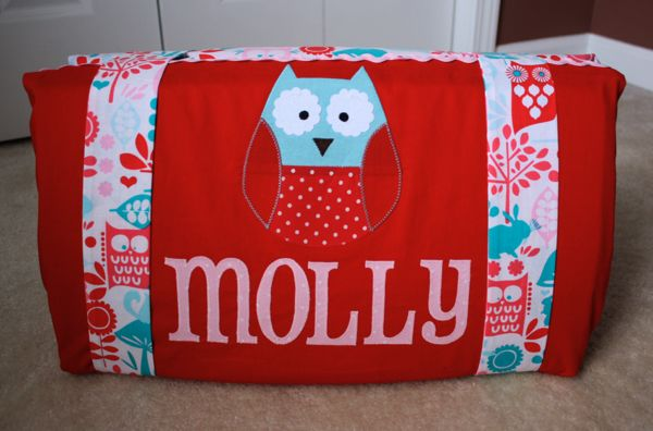 This will be cute to make for the twins for pre-school!! Except in different patterns.