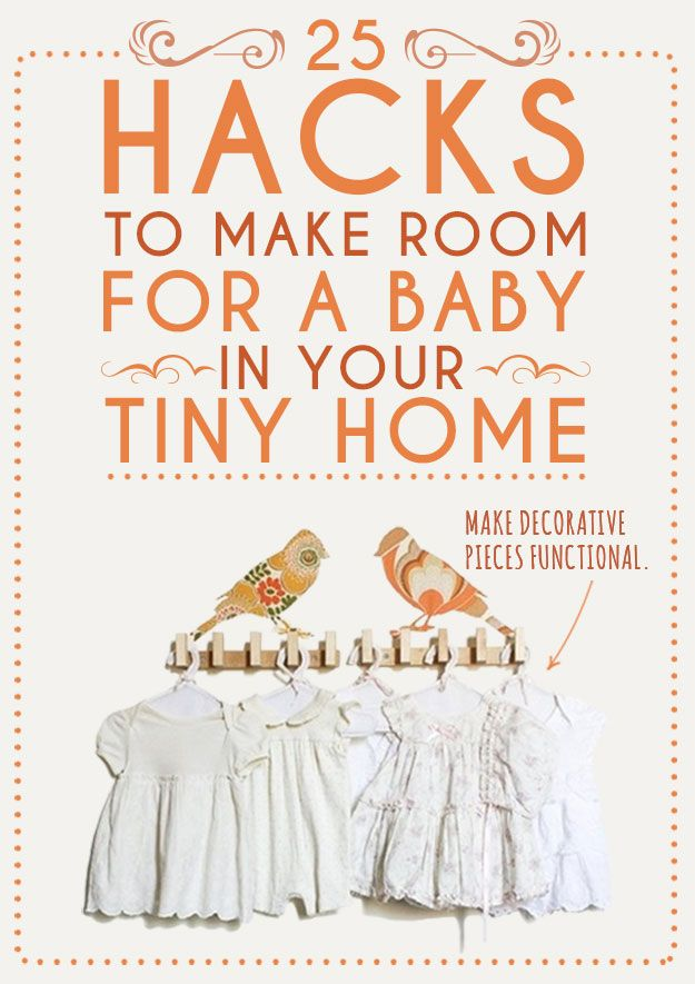 25 Ideas To Make Room For A Baby In Your Home - http://diyideas4home.com/2013/11/25-ideas-make-room-baby-home/