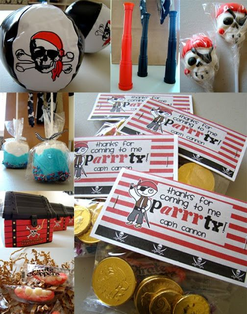 pirate party ideas | And finally...the paRrrtY.