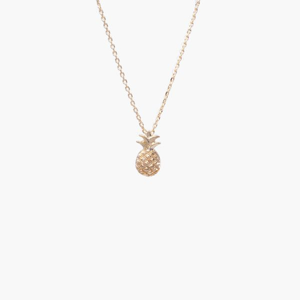 Ananas Gold Necklace