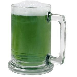 How to Make Green Beer for St Patricks Day #stepbystep