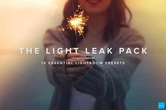 Light Leaks Presets - Lightroom by Swell Studio on Creative Market