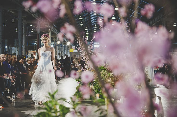 One Fine Day Wedding Fair - Sydney, Sept 2014 Featuring a stunning dress from The Babushka Ballerina: www.thebabushkaballerina.com.au And Pink Silk Flower Headband from us, Purdy in Bloom: www.purdyinbloom.com