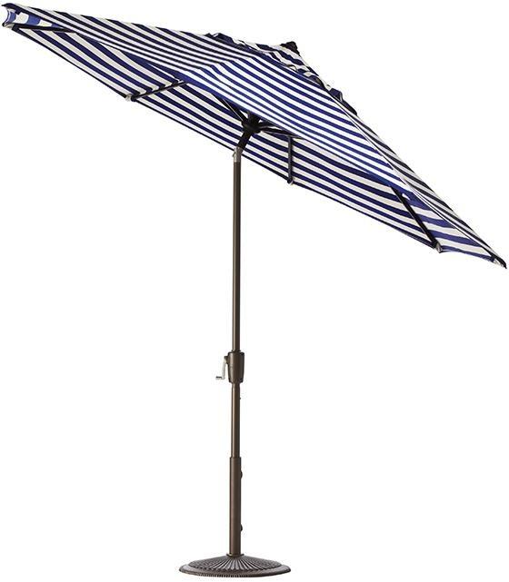 Elegant Either Blue And White Or Black And White Stripe. 9u0027 Auto Tilt Market. Outdoor  UmbrellasMarket ...
