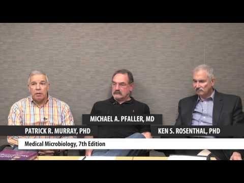 "Patrick Murray, PhD, Ken Rosenthal, PhD & Michael Pfaller, MD discuss their book ""Medical Microbiology, 7th Edition."" #medschool #medicalschool #microbiology"