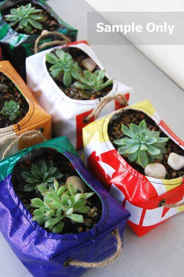 24 Highly Creative Yet Inexpensive Recycled Flower Pots For Your