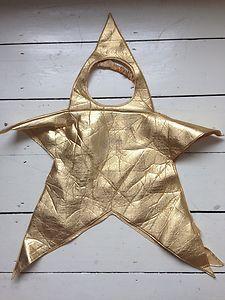 gold star costume - kitschy glam fun!