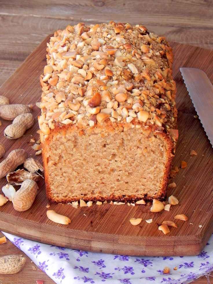 Fabryka Kulinarnych Inspiracji: Chleb fistaszkowy