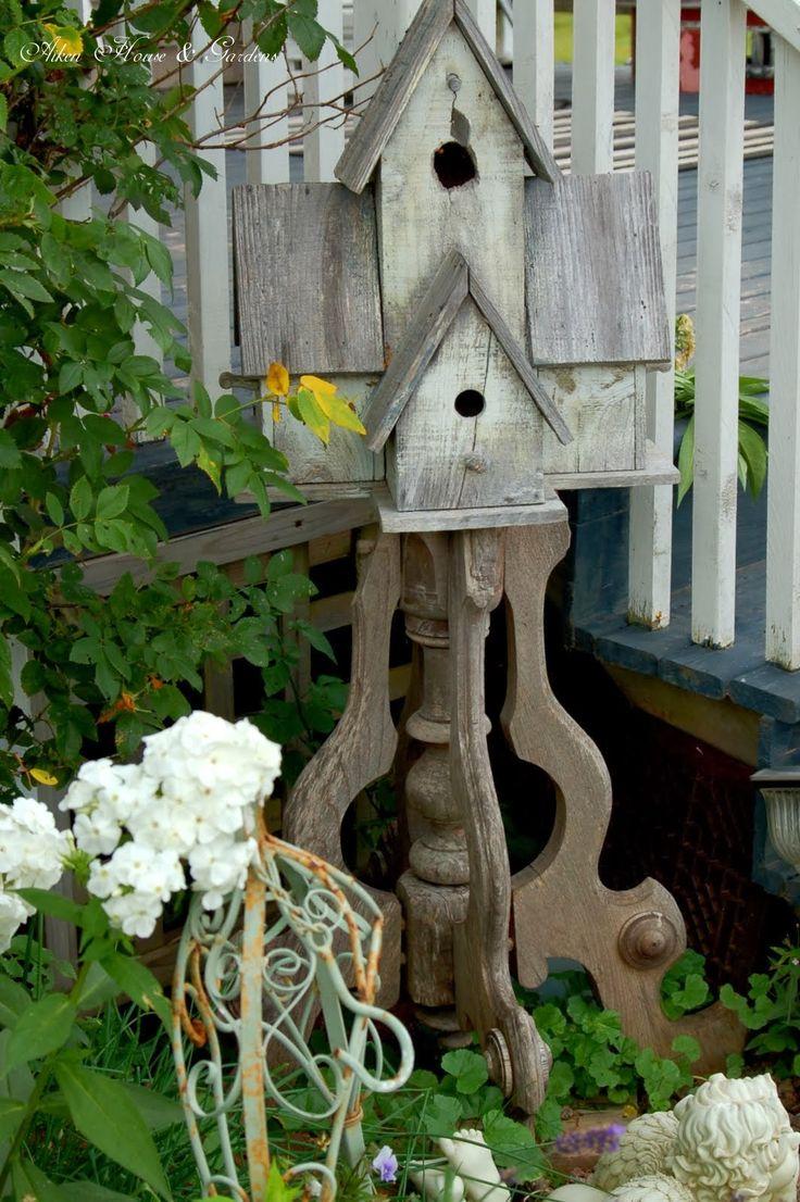 456 best Birdhouses in the Garden images on Pinterest   Vegetable ...