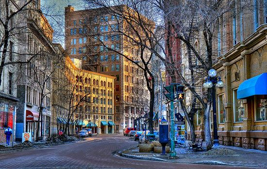 The Exchange Shopping District in #Winnipeg, #Manitoba