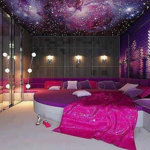 Pink Galaxy 10 Cool Bedroom Ideas For Amazing Decoration