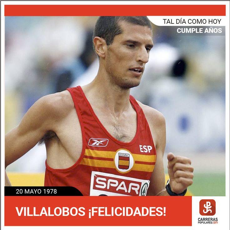 Cumple 39 años el gran Pablo Villalobos Campeón de España de Maratón ¡Felicidades campeón!