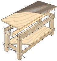 Build A Basic Work Bench Woodworkingbench