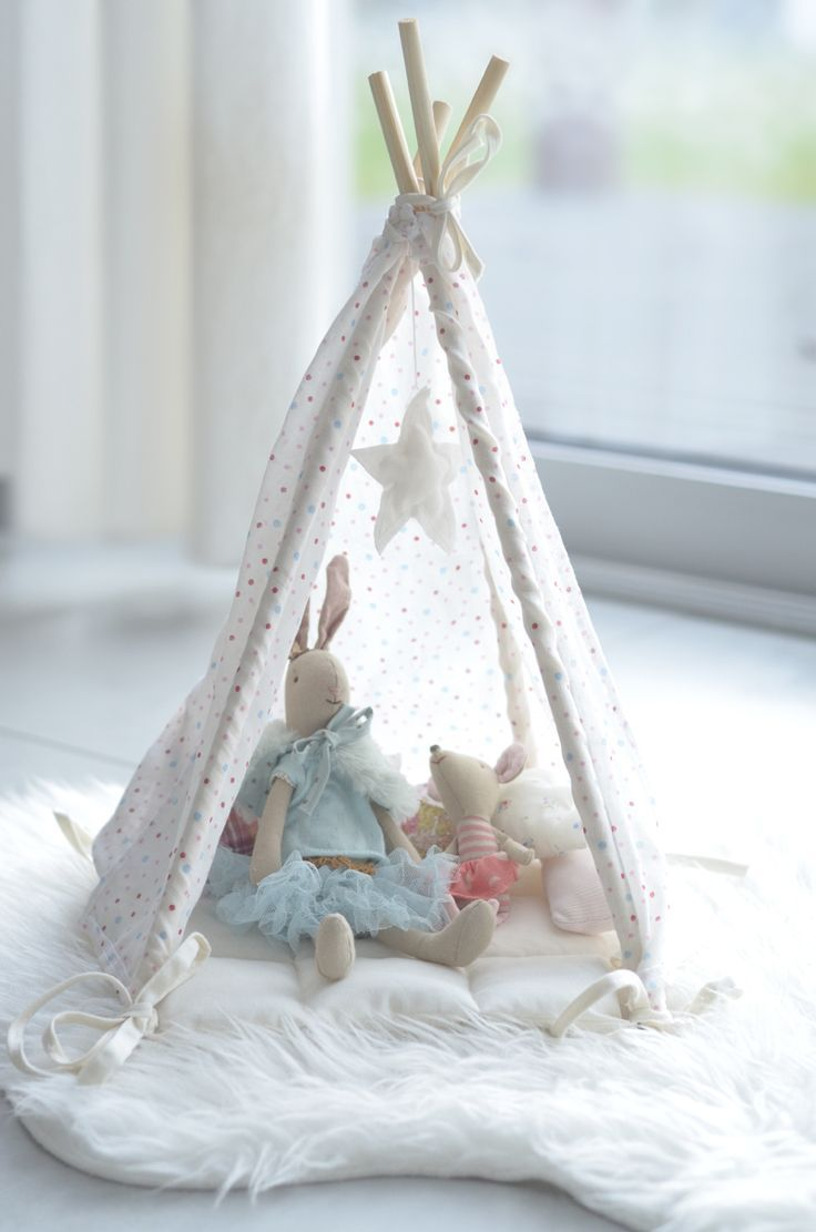 Maileg for little girl's room (Luna Lapin Cool Crafts)