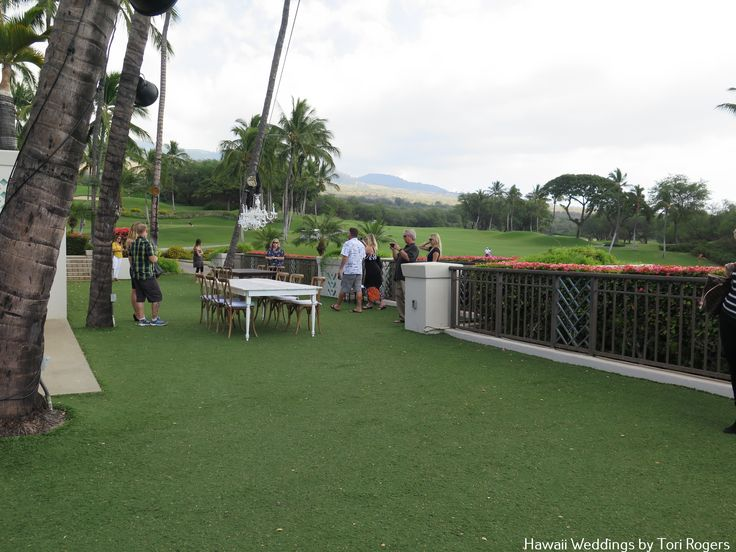 Gannon's Lower Lawn. Perfect for your reception or celebration. Contact Hawaii weddings by Tori Rogers for your wedding or event here. www.hawaiianweddings.net Rentals by Hawaiian Style Event Rentals