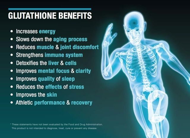 Glutathione: The Mother of All Antioxidants