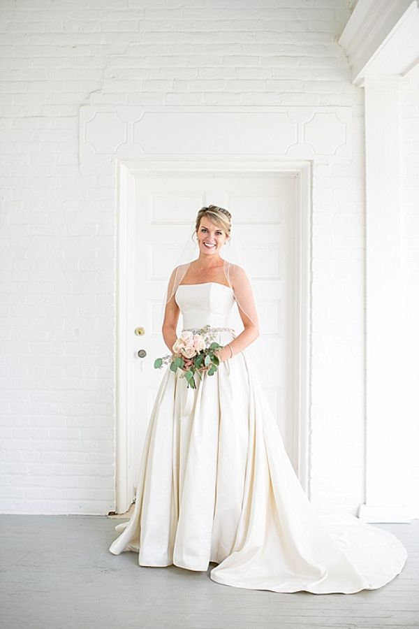 Bride in classic wedding dress    #weddings #weddingideas #aislesociety  #classicwedding