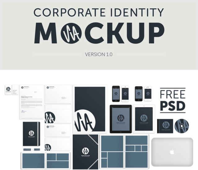 20 Free Branding and Identity Mockup Templates