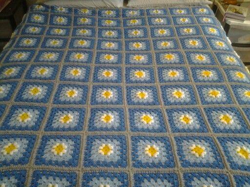 Crochet daisy's for a friend