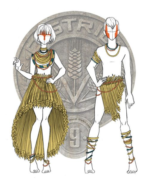 THE HUNGER GAMES: Serves Up A New Course Of Fashion, Courtesy Of Artist Lance Temple | BAD HAVEN