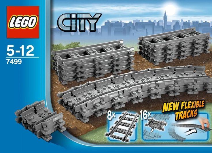 LEGO City 7499 Flexible Tracks Set Legos Leggos Track Train Trains Sets NEW  #LEGO