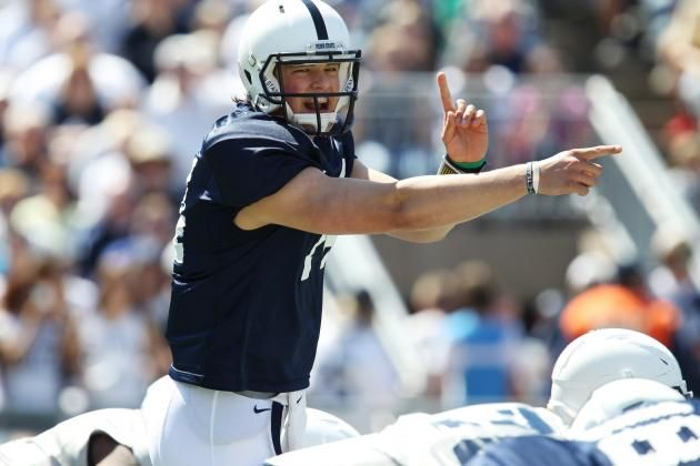 PENN STATE – FOOTBALL 2013 – It was noble that Hackenberg did not jump ship from Penn State during the Jerry Sandusky scandal and ensuing NCAA sanctions. He could have, and he didn't, and that's awesome. But assuming he leaves for the 2016 NFL draft (and why wouldn't he?), it means he'll only have one real season at the college level. Just one year where his team is bowl-eligible and his roster has the depth to compete.