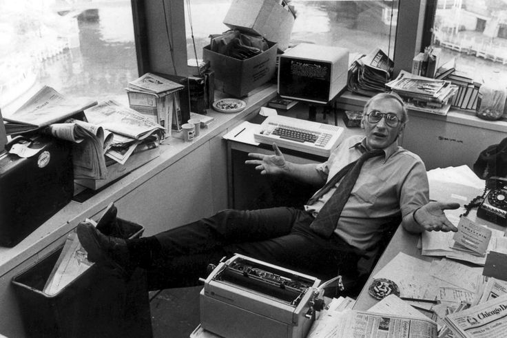 The cantankerous but lovable Chicago newspaper columnist Mike Royko begins The Daily Beast's new weekly feature, The Stacks.