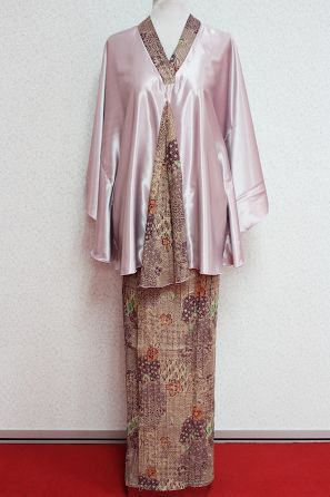 Kurung Hamil Erika (Lilac) by Empire of Elegance. Kurung Hamil Erika is a free size baju kurung designed for expecting mothers.