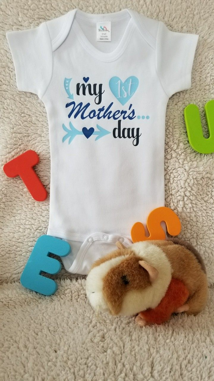 44885dbb3 My First Mother's Day!! See our shop for either the boy or girl's version!! Happy  Mother's Day!!