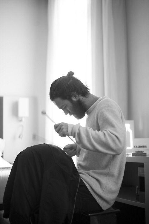 Chet Faker - gorgeous beard, gorgeous voice
