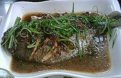 Chifa comida china mens pescado pescado al vapor con for Pescado chino