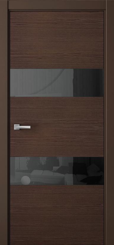 Дверь межкомнатная Волховец Avant 4037 ТТ, глухая , шпон Таеда Табак