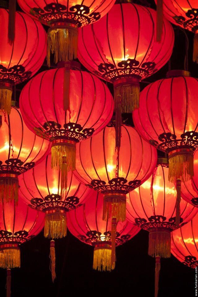 Red Chinese lanterns. #PANDORAloves #CNY #ChineseNewYear