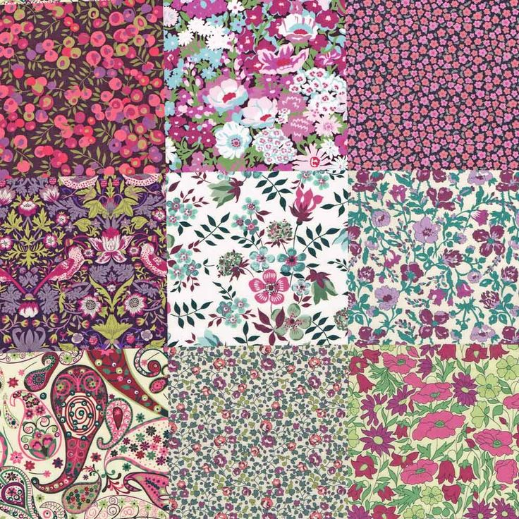 Liberty Fabric Tana Lawn Katherine's Patchwork - NEW! - Alice Caroline - Liberty fabric, patterns, kits and more - Liberty of London fabric online