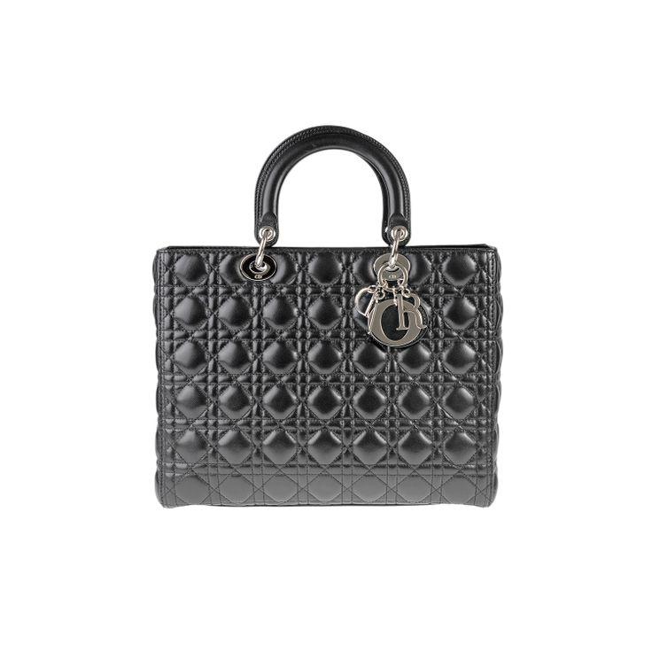 #ChristianDior Lady Dior Large #BAG #FASHION #DIOR