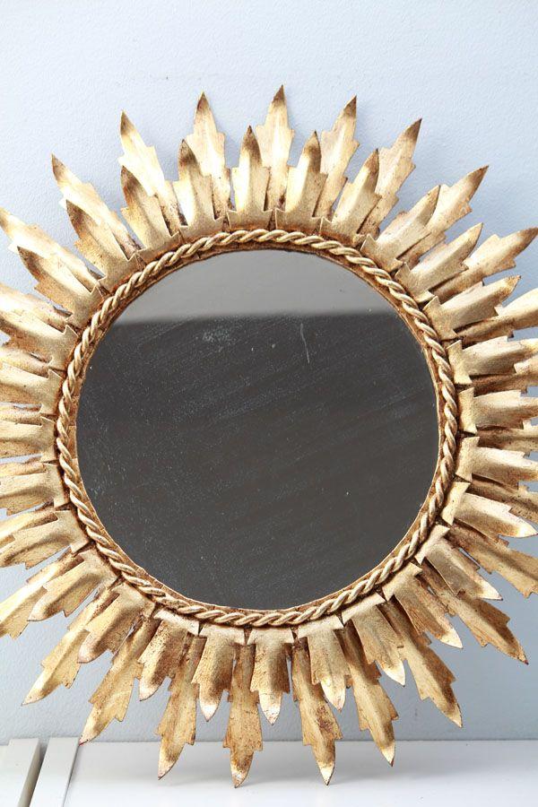 17 mejores im genes sobre espejos en pinterest vidrio for Espejo redondo vintage