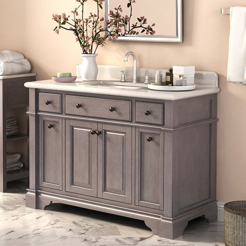 "Found it at Wayfair - Casanova 48"" Single Vanity Set with Backsplash"