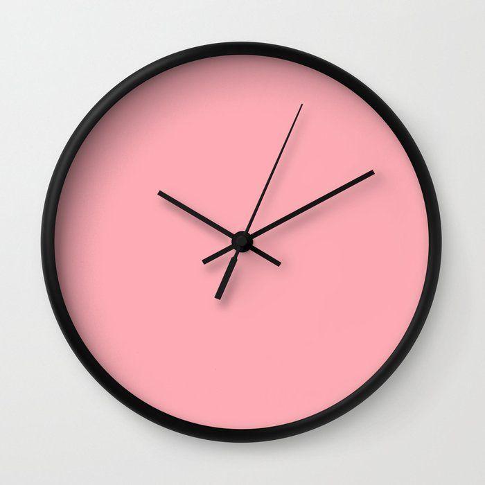 Wall Clock Pink Wall Clocks Wall Clock Rose Wall
