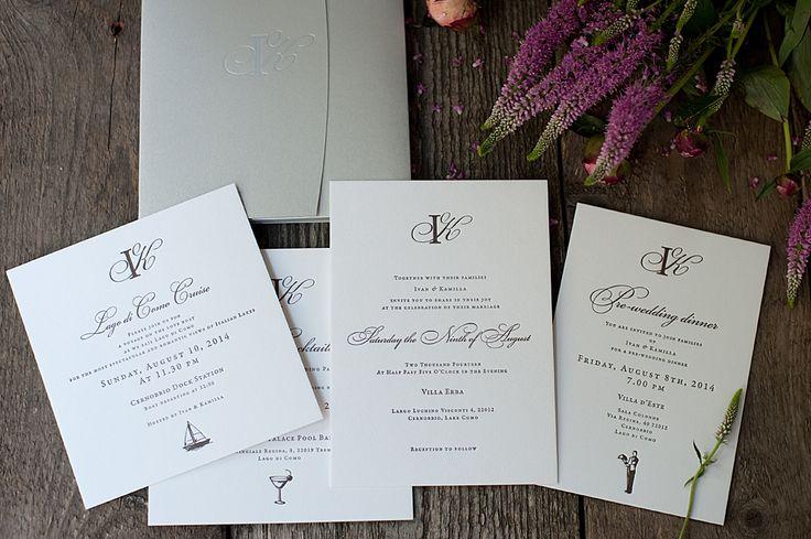 wedding invitation letterpress rsvp cards
