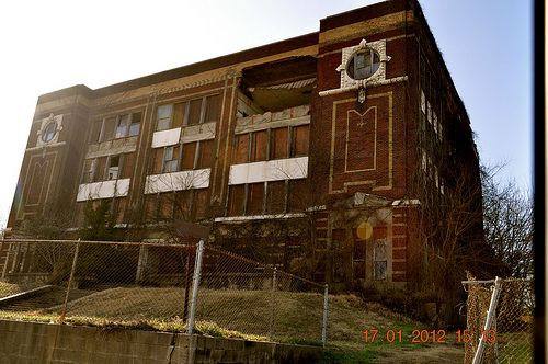 Old Helena High School On Biscoe Street House Styles