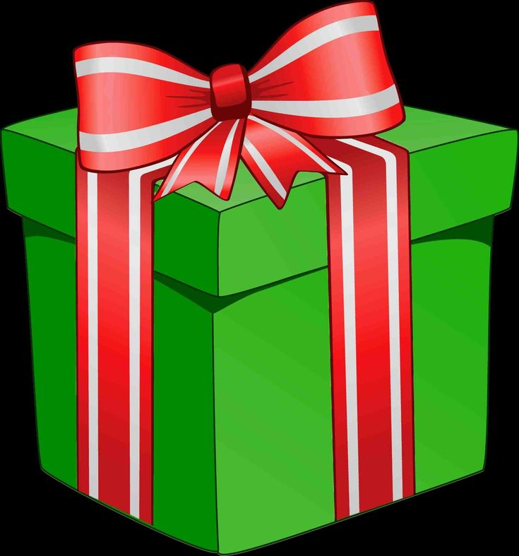 New Post christmas presents transparent background