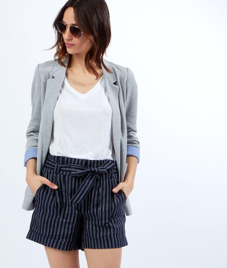 Les 25 meilleures id es de la cat gorie shorts en lin sur pinterest style d - Zara maison en ligne ...
