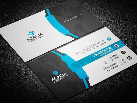 Business Card By Designghar On Creativemarket Business Card