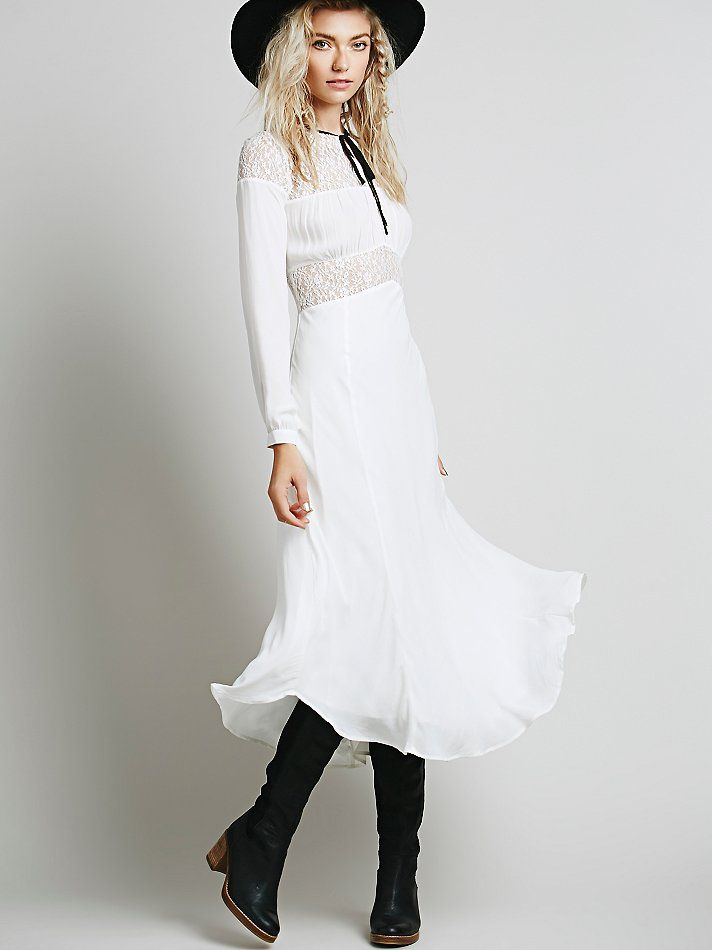 Free People Wonderland Floaty Dress
